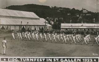 Turnfest 1922 in St.Gallen (StASG, W 296/6.1.11-2-1)