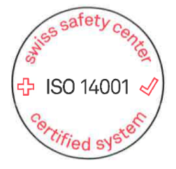 Zertifikat Strafanstalt Saxerriet ISO 14001 Swiss Safety Center AG